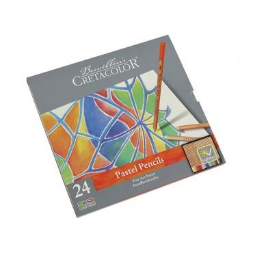 Set 24 creioane Art pastel Cretacolor