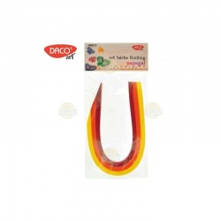 SET HARTIE QUILLING Papagal