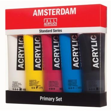Set acrilice Amsterdam Primary