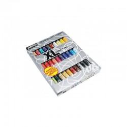 Set 30 culori de ulei XL Studio + 1 pensula Pebeo