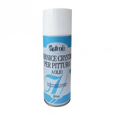 Vernis cristal aerosol Divolo