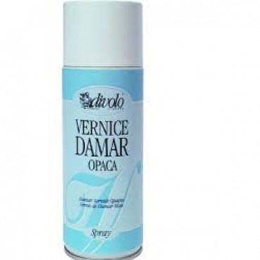 Vernis Spray Damar Opac