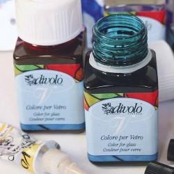 Culori pentru sticla, vitralliu Divolo