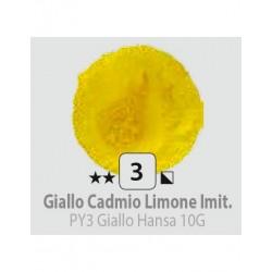 PIGMENT PULBERE GIALLO CADMIO LIMONE