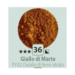 PIGMENT PULBERE GIALLO DI MARTE