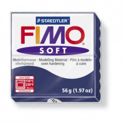 FIMO SOFT -ALBASTRU-WINDSOR BLUE ( 56G )