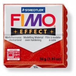 FIMO EFFECT GLITTER -ROSU ( 56G )