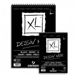 Bloc Canson XL Dessin Noir