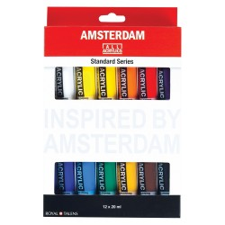 Set acrilice Amsterdam 20 ml
