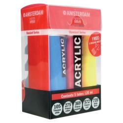 Set acrilice Amsterdam Standard Set + Nozzles