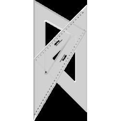 Set Echere Rotring 45/32 CM - 30/60/37 CM
