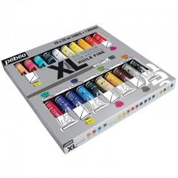 Set 20 culori de ulei XL Studio + 1 pensula Pebeo