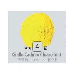 PIGMENT PULBERE GIALLO CADMIO CHIARO