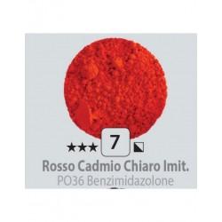 PIGMENT PULBERE ROSSO CADMIO CHIARO IMIT