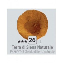 PIGMENT PULBERE TERRA SIENA NATURALE