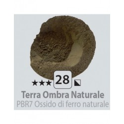 PIGMENT PULBERE TERRA OMBRA NATURALE