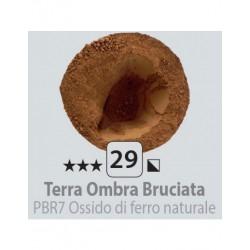 PIGMENT PULBERE TERRA OMBRA BRUCIATA