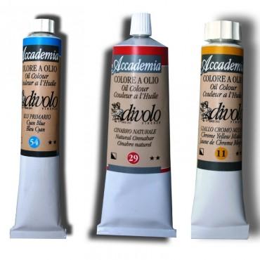 Culori de ulei Academia Divolo 60ml