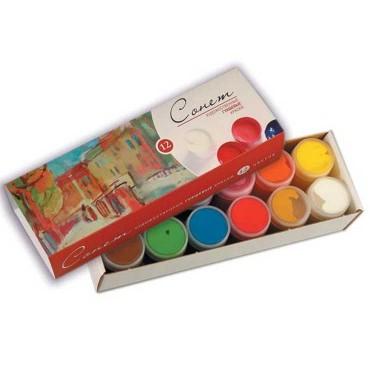 Set Gouache Colors  Sonnet 12 buc
