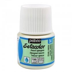 Culori pentru textile Setacolor Opaque Pearl Pebeo