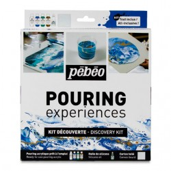 Kit Discovery Pouring Experiences Pebeo