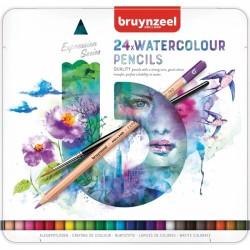 Set  creioane colorate Bruynzeel Expression Aquarel