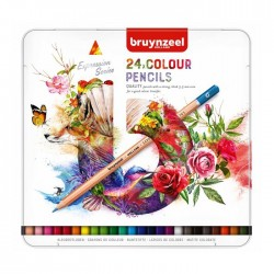 Seturi creioane colorate Bruynzeel Expression Colour