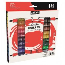 Set 18 culori de ulei fine XL Oil Studio Pebeo