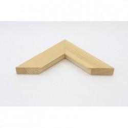Rama lemn natur cu latime de 5 cm