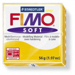 FIMO SOFT - GALBEN SUN FLOWER ( 56G )