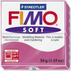 FIMO SOFT - ROSU ZMEURA -RASPBERRY ( 56G )
