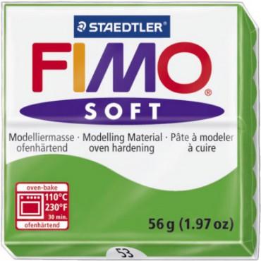 FIMO SOFT - VERDE TROPICAL-TROPICAL GREEN ( 56G )
