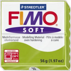 FIMO SOFT - VERDE DESCHIS-APPLE GREEN ( 56G )