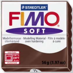 FIMO SOFT -CIOCOLATA-CHOCOLATE ( 56G )