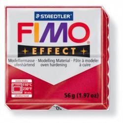 FIMO EFFECT METALIC -RUBIN ( 56G )