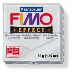 FIMO EFFECT METALIC -ARGINTIU ( 56G )