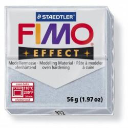 FIMO EFFECT GLITTER -ARGINTIU ( 56G )
