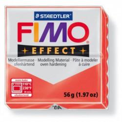 FIMO EFFECT TRANSLUCID -ROSU (56G )